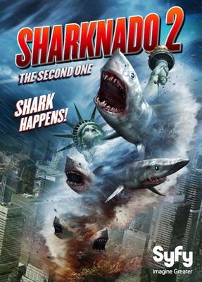 Акулий торнадо 2 / Sharknado 2: The Second One (2014)